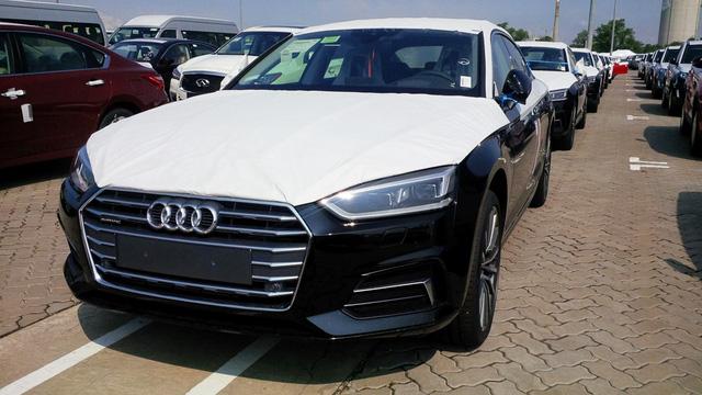 Audi A5 Sportback phục vụ APEC đã cập cảng Việt Nam - Ảnh 1.
