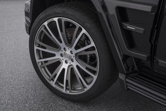 Brabus G65 - Xe off-road mạnh nhất thế giới, giá lên đến 18,16 tỷ Đồng - Ảnh 6.