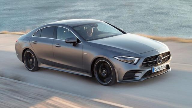 Ảnh thực tế Mercedes-Benz CLS 2019 vừa ra mắt - Ảnh 10.