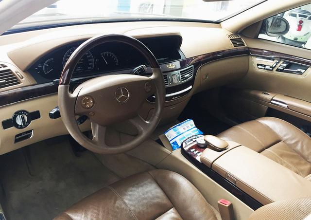 Mercedes S550 4Matic 10 năm tuổi giá chỉ còn 790 triệu đồng tại Hà Nội - Ảnh 6.