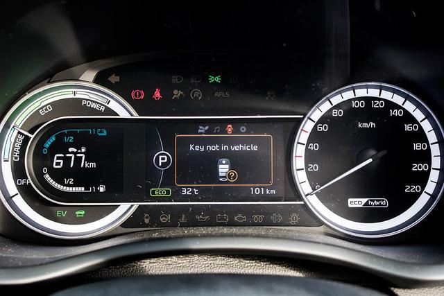 Xe crossover siêu tiết kiệm xăng Kia Niro ra mắt Đông Nam Á - Ảnh 13.