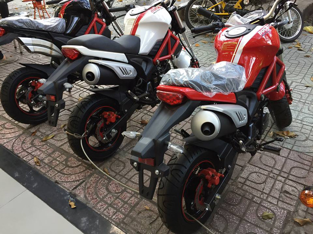 Xôn xao với Ducati Monster 110 giá 38 triệu Đồng tại Việt Nam - Ảnh 8.