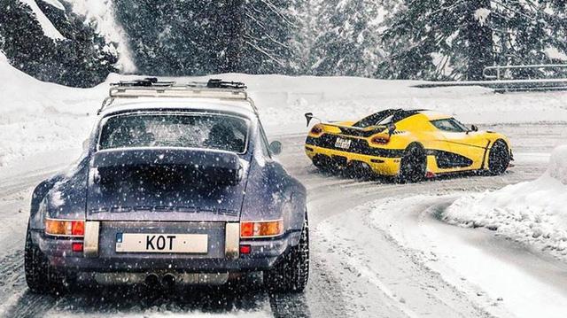 Koenigsegg Agera RS từng vượt đèo tuyết tại Thụy Sĩ, nhả khói đen mù mịt ở Ý - Ảnh 5.