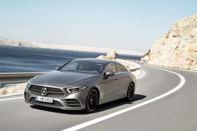Ảnh thực tế Mercedes-Benz CLS 2019 vừa ra mắt - Ảnh 11.