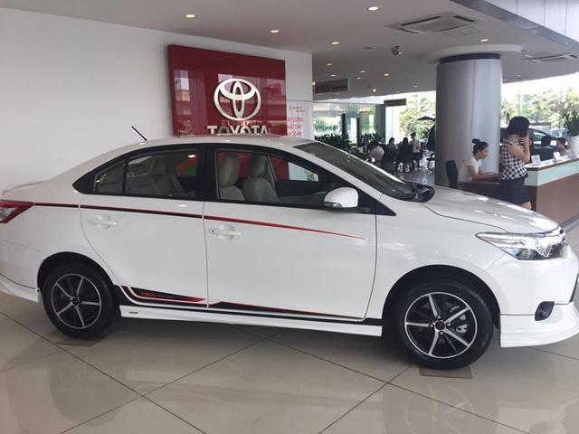 Phân khúc B cạnh tranh khốc liệt - Toyota Vios giảm giá sâu, ra phiên bản thể thao mới - Ảnh 2.