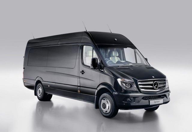 Mercedes-Benz Sprinter 2018 - xe van hiện đại nhất thế giới - Ảnh 2.