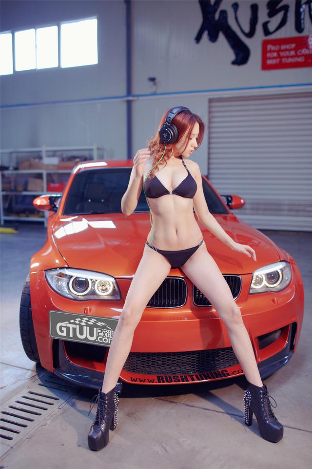 Co nang da sang dang xinh ben BMW M-series