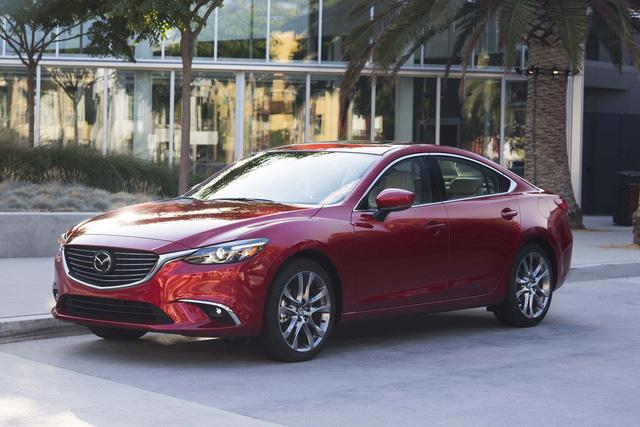 Mazda6 nằm trong nhóm xe ế ẩm năm 2017 tại Mỹ - Ảnh 1.