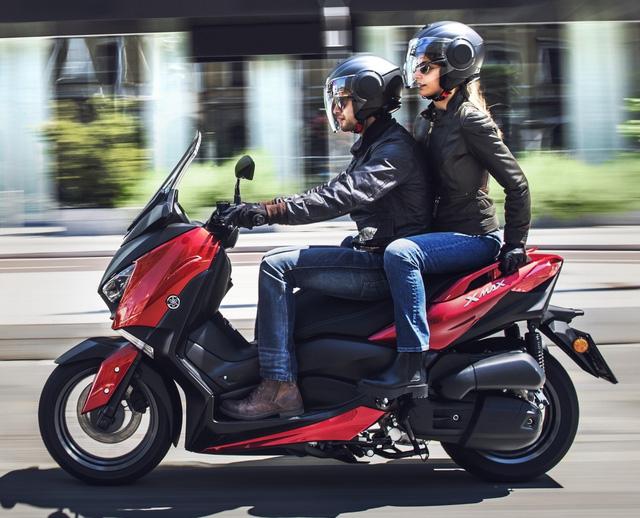 Xe tay ga Yamaha X-Max 125 đời mới được trang bị an toàn hơn - Ảnh 2.