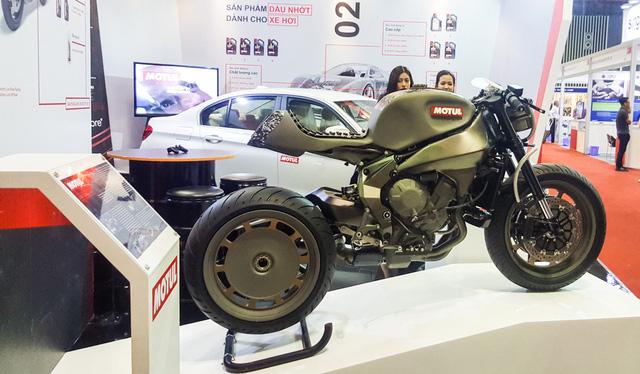 Siêu mô tô độ hàng thửa Motul Onirika 2853 lần đầu xuất hiện tại Việt Nam - Ảnh 2.