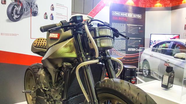 Siêu mô tô độ hàng thửa Motul Onirika 2853 lần đầu xuất hiện tại Việt Nam - Ảnh 6.