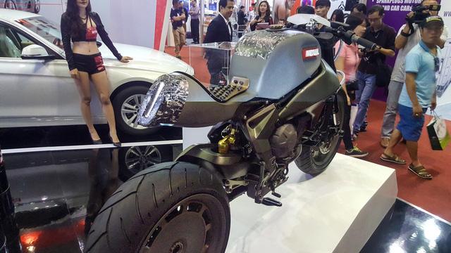 Siêu mô tô độ hàng thửa Motul Onirika 2853 lần đầu xuất hiện tại Việt Nam - Ảnh 5.