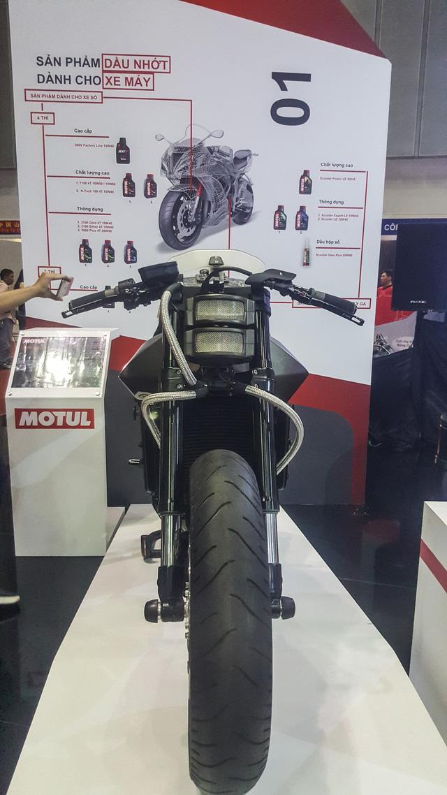Siêu mô tô độ hàng thửa Motul Onirika 2853 lần đầu xuất hiện tại Việt Nam - Ảnh 3.