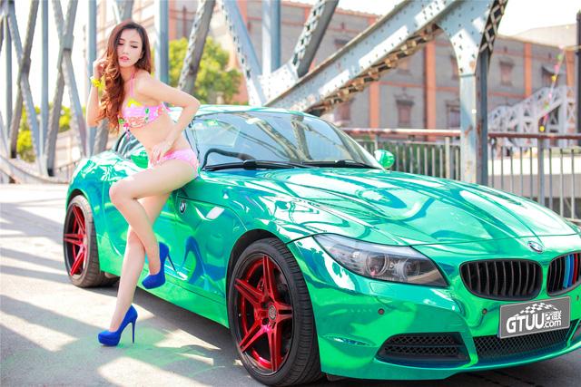 Cô nàng trong veo đầy gợi cảm bên BMW Z4 mạ crome - Ảnh 6.