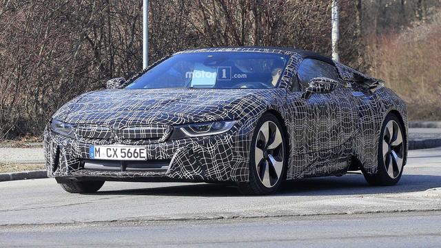 Chốt lịch ra mắt xe mui trần BMW i8 Roadster - Ảnh 1.