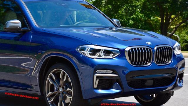 Bắt gặp SUV hạng sang BMW X3 2018 ngoài đời thực - Ảnh 1.