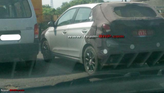 Hyundai i20 facelift bị bắt gặp trên đường chạy thử - Ảnh 2.