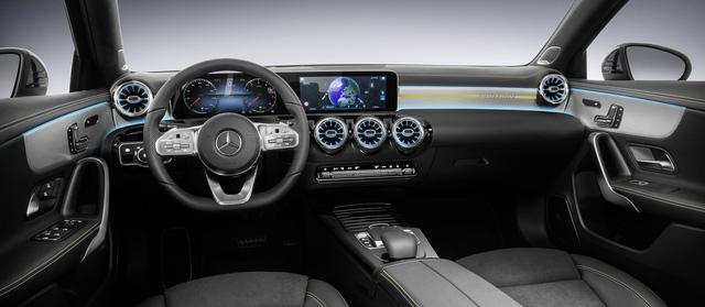 Nội thất Mercedes-Benz A-Class mới tái hiện thiết kế của xe sang S-Class - Ảnh 2.