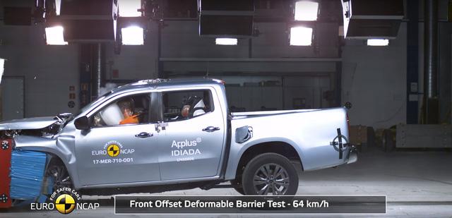 Xe bán tải của Mercedes-Benz nhận điểm an toàn tuyệt đối theo tiêu chuẩn châu Âu - Ảnh 1.