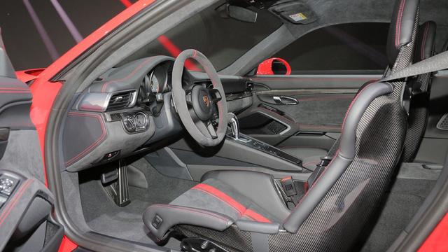 Porsche 911 GT3 2018 chính thức ra mắt, giá từ 3,3 tỷ Đồng - Ảnh 13.