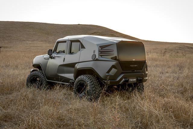 Rezvani Tank - Xe SUV mạnh 500 mã lực, có camera nhiệt quan sát ban đêm - Ảnh 3.