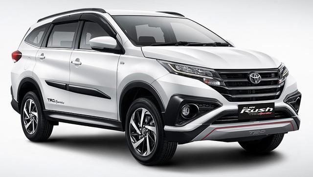 Toyota Rush 2018 - tiểu Fortuner chính thức ra mắt - Ảnh 1.