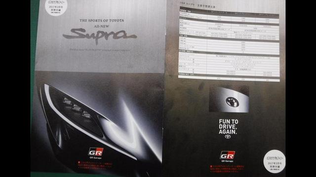 Xe thể thao Toyota Supra 2018 bất ngờ bị rò rỉ hình ảnh và thông tin nóng - Ảnh 1.