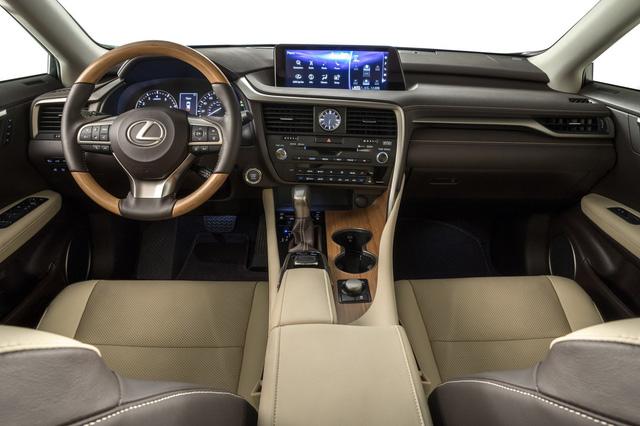 Lexus RX L chính thức gia nhập phân khúc SUV 7 chỗ hạng sang - Ảnh 7.