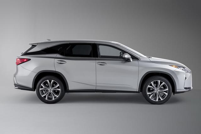 Lexus RX L chính thức gia nhập phân khúc SUV 7 chỗ hạng sang - Ảnh 4.