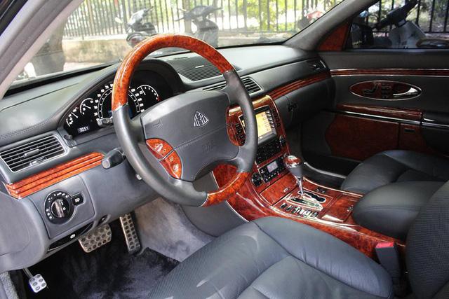 Xe siêu sang Maybach 62 trong lô xe nhập lậu năm 2013 tái xuất tại Hà Nội - Ảnh 3.