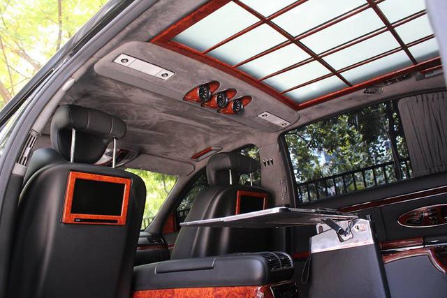 Xe siêu sang Maybach 62 trong lô xe nhập lậu năm 2013 tái xuất tại Hà Nội - Ảnh 8.