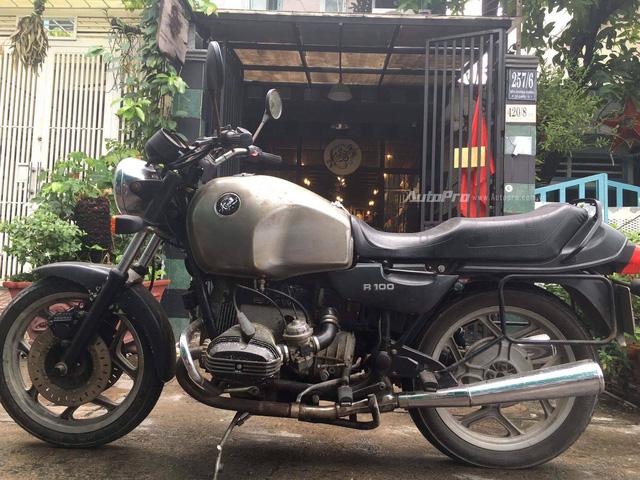Ngẩn ngơ với BMW R100 độ đổi màu của thợ Việt - Ảnh 2.