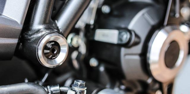 Sướng mắt với Honda CB150R ExMotion chi chít đồ độ - Ảnh 10.