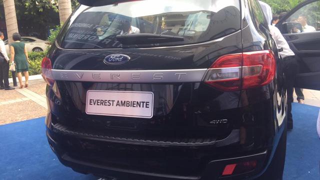 Ford Everest mới sắp ra mắt Việt Nam, tăng sức cạnh tranh Toyota Fortuner - Ảnh 1.