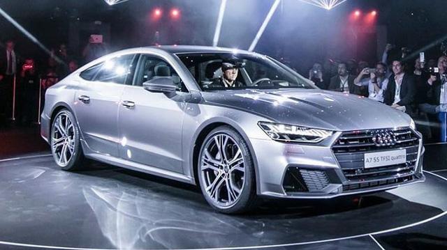 """Chiêm ngưỡng vẻ đẹp """"bằng xương, bằng thịt"""" của xe sang Audi A7 Sportback 2018 mới ra mắt"""