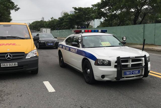 Xe cảnh sát Dodge Charger phục vụ APEC tại Đà Nẵng - Ảnh 1.