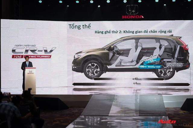 Honda CR-V 2018 chính thức ra mắt Việt Nam, giá cao nhất chưa đến 1,1 tỷ đồng - Ảnh 2.
