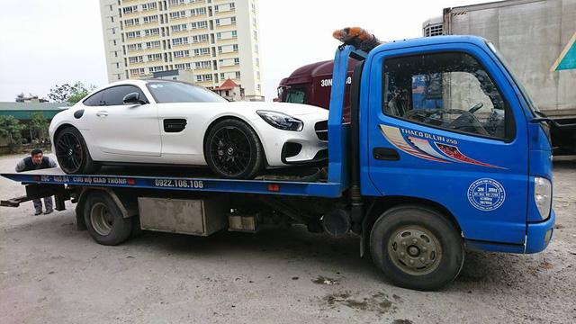 Mercedes-AMG GTS Edition 1 màu trắng đầu tiên về Việt Nam - Ảnh 7.