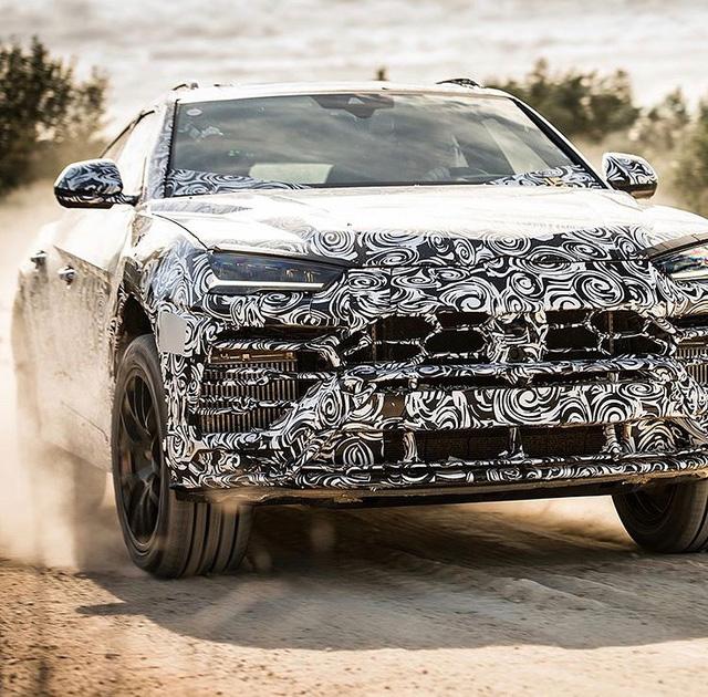 Siêu SUV Lamborghini Urus lần đầu lộ ảnh nội thất - Ảnh 3.