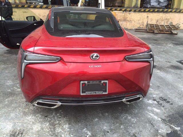 Xe thể thao Lexus LC500 2018 đầu tiên về Việt Nam - Ảnh 5.