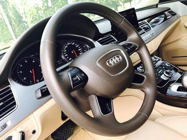 Sedan hạng sang Audi A8L cũ rao bán lại giá 3,8 tỷ đồng tại Sài Gòn - Ảnh 12.