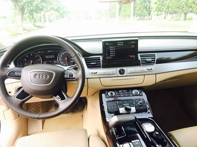 Sedan hạng sang Audi A8L cũ rao bán lại giá 3,8 tỷ đồng tại Sài Gòn - Ảnh 5.