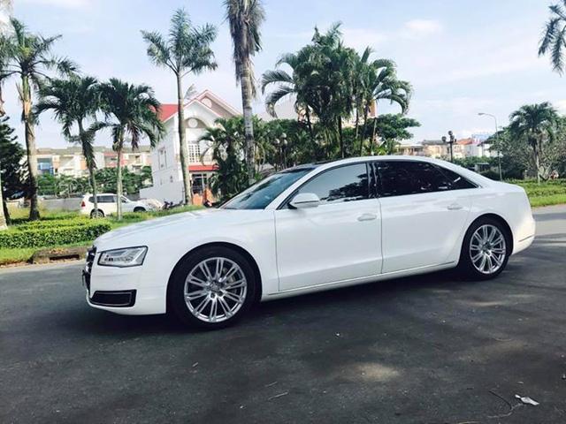 Sedan hạng sang Audi A8L cũ rao bán lại giá 3,8 tỷ đồng tại Sài Gòn - Ảnh 1.