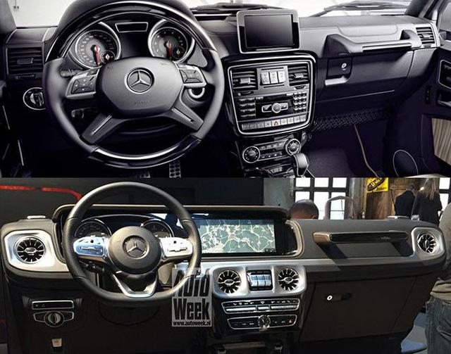Lộ chi tiết nội thất Mercedes-Benz G-Class thế hệ mới - Ảnh 2.