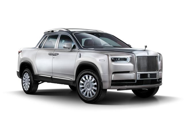 Xe bán tải của Rolls-Royce trông sẽ như thế nào? - Ảnh 1.