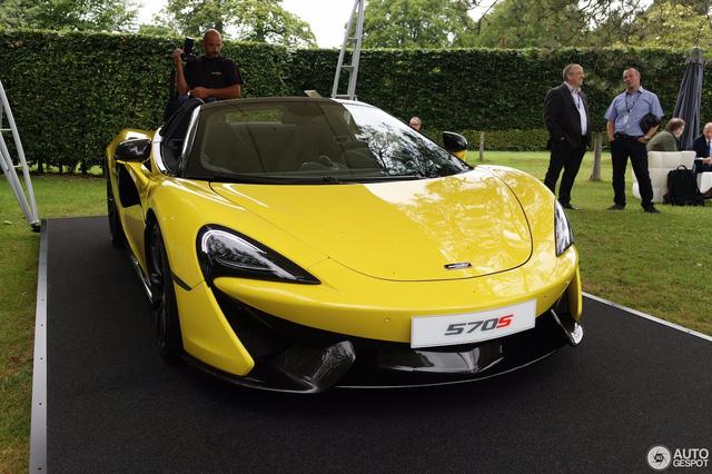 McLaren 570S mui trần chính thức trình làng tại lễ hội Goodwood - Ảnh 1.
