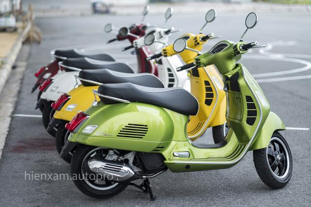 Vespa GTS trình làng khách Việt với 3 phiên bản 125cc, 150cc và 300cc - Ảnh 3.