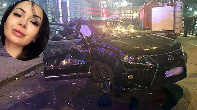 Con gái triệu phú Ukraine lái xe Lexus vượt đèn đỏ, gây tai nạn liên hoàn khiến 6 người tử vong