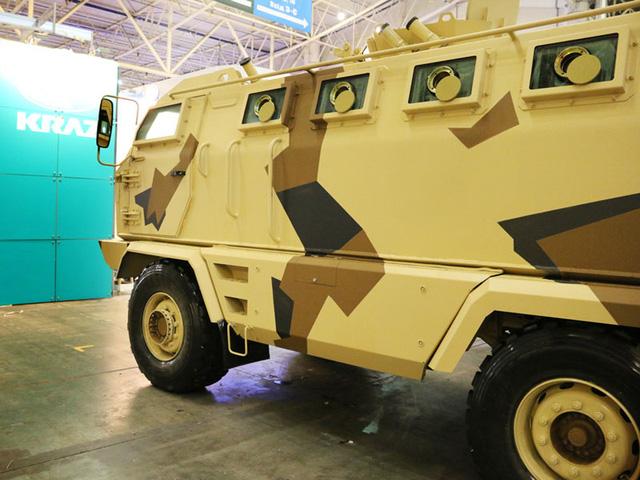 Gặp gỡ krAZ-HULK - xe chở quân chống mìn chuyên dụng - Ảnh 3.