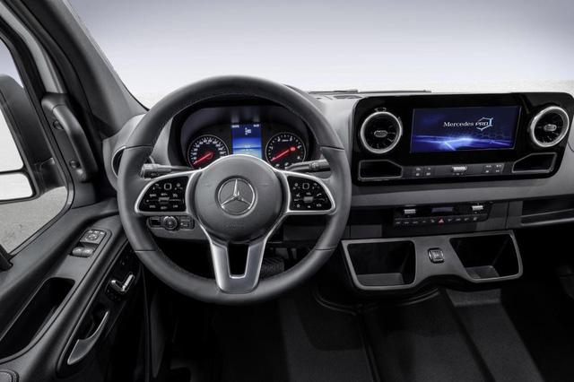 Mercedes-Benz Sprinter 2018 - xe van hiện đại nhất thế giới - Ảnh 5.